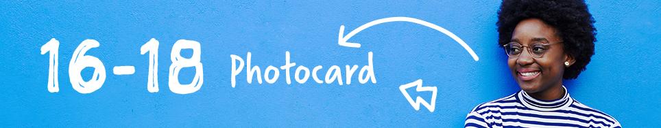 16-18 Photocard header