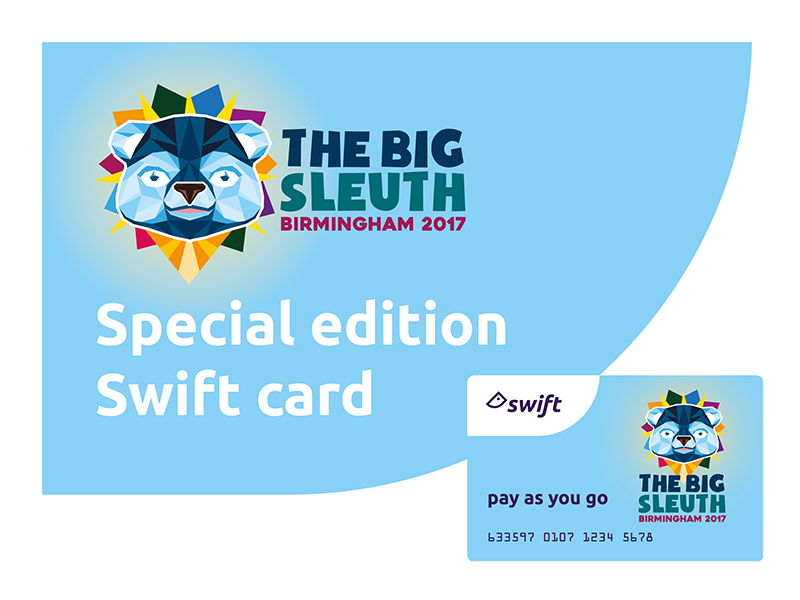 New Big Sleuth Swift PAYG Card